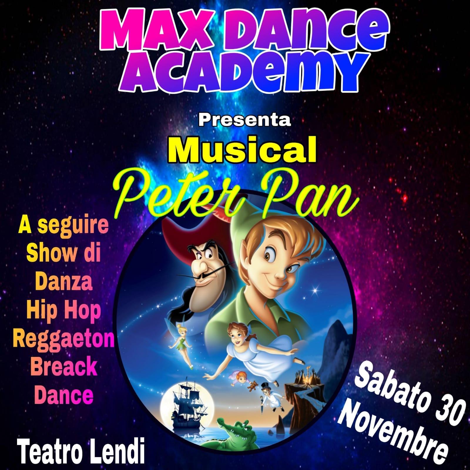 Max Dance Academy, al Teatro Lendi di Sant'Arpino la danza incontra la fiaba di Peter Pan