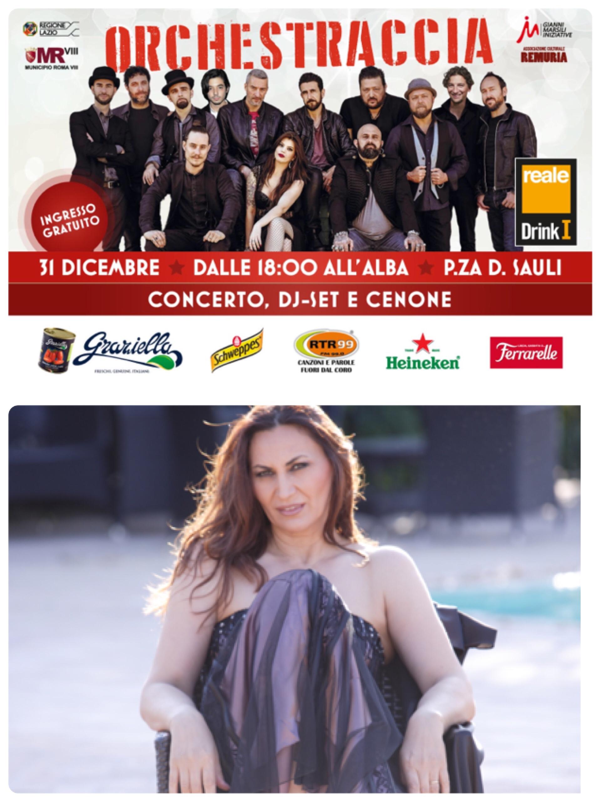 Capodanno a la Garbatella con Gió Di Sarno e L'Orchestraccia
