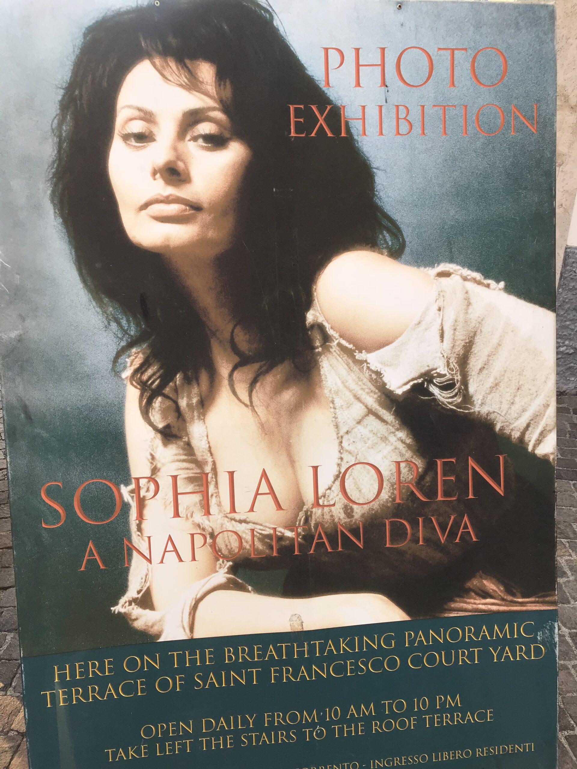 Sophia Loren, vita da grande diva in photo exibition
