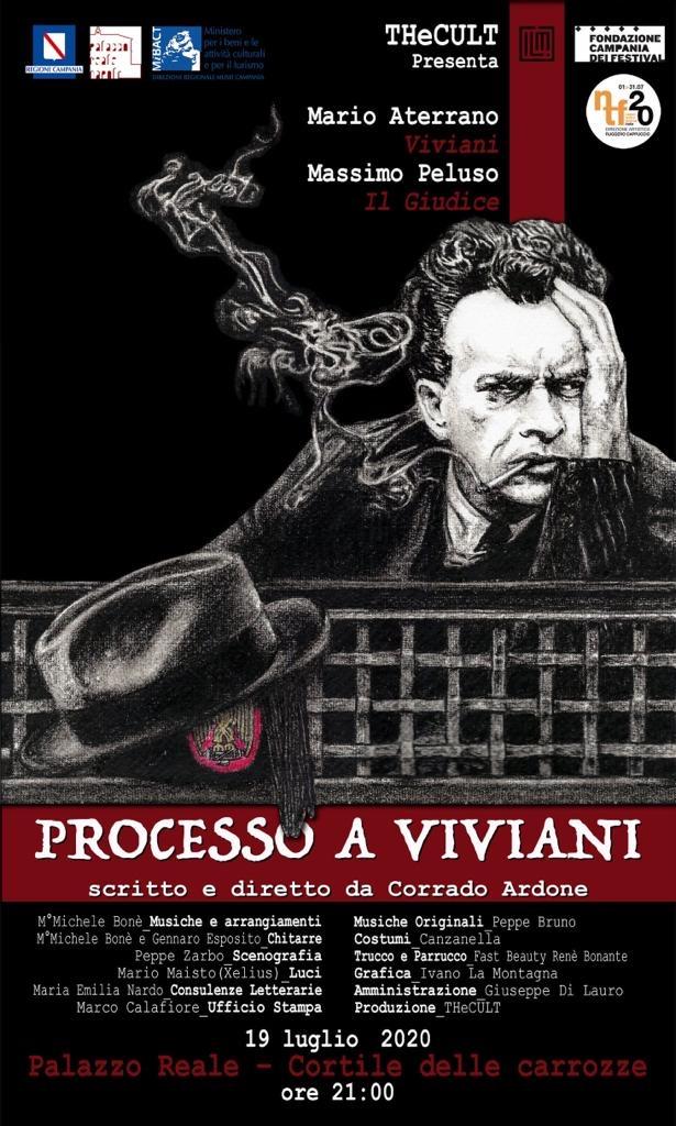 'Processo a Viviani', al Napoli Teatro Festival lo spettacolo di Corrado Ardone