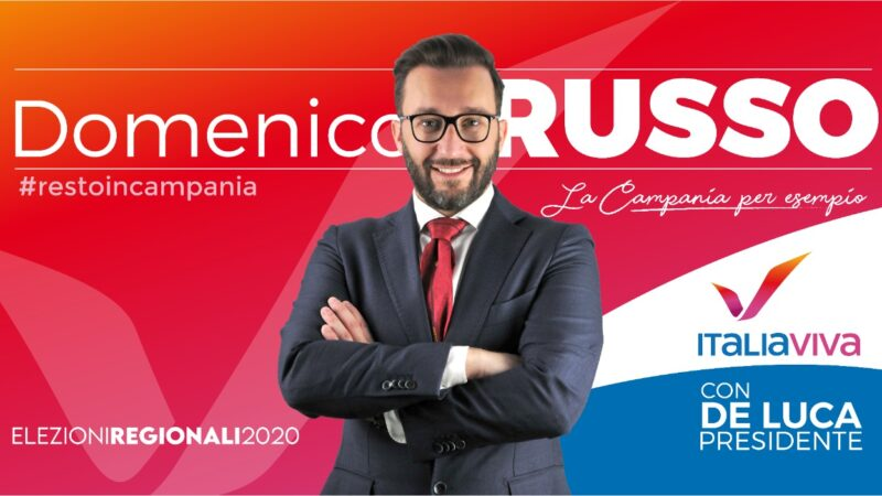 Elezioni Regionali, Italia Viva schiera Domenico Russo